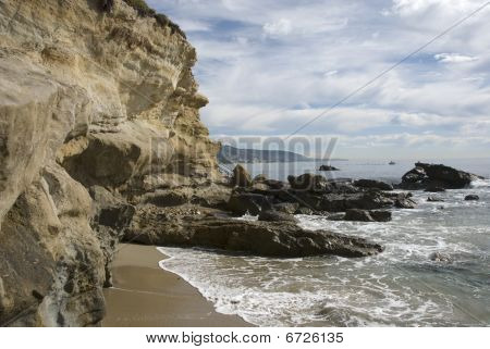 The beaches and coves of southern California