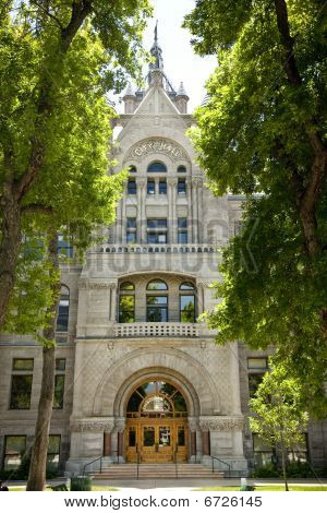 City and County Building in Salt Lake City