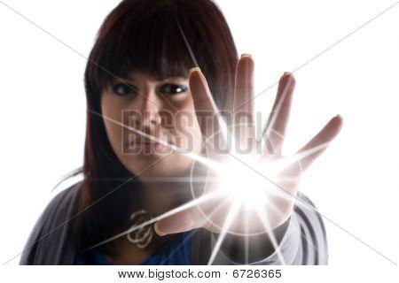 Mulher com Super poderes