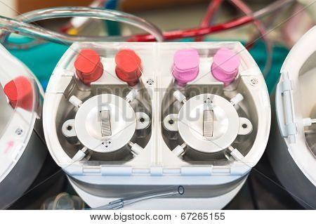 Roller Pump Part Of Heart Lung Machine