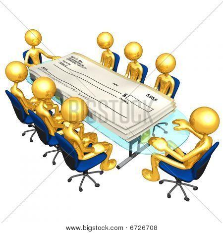 Gold Guys Blank Checks Meeting