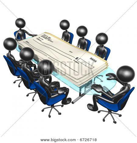 Blank Checks Meeting