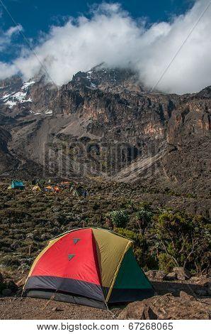Camping At Barranco, Kilimanjaro