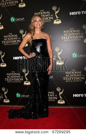 LOS ANGELES - JUN 22:  Kelly Sullivan at the 2014 Daytime Emmy Awards Arrivals at the Beverly Hilton Hotel on June 22, 2014 in Beverly Hills, CA