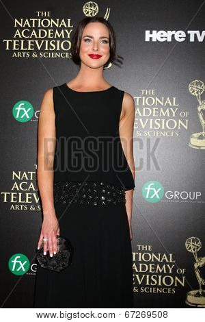 LOS ANGELES - JUN 22:  Ashleigh Brewer at the 2014 Daytime Emmy Awards Arrivals at the Beverly Hilton Hotel on June 22, 2014 in Beverly Hills, CA
