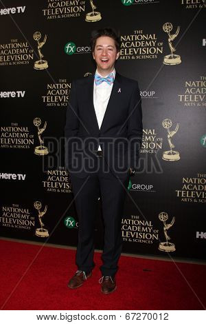 LOS ANGELES - JUN 22:  Bradford Anderson at the 2014 Daytime Emmy Awards Arrivals at the Beverly Hilton Hotel on June 22, 2014 in Beverly Hills, CA