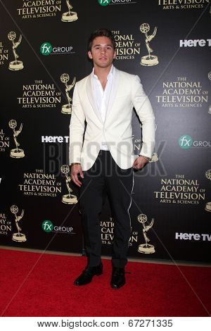LOS ANGELES - JUN 22:  Casey Moss at the 2014 Daytime Emmy Awards Arrivals at the Beverly Hilton Hotel on June 22, 2014 in Beverly Hills, CA