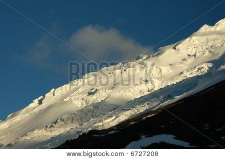 Cotopaxi glacier, Ecuador Andes.