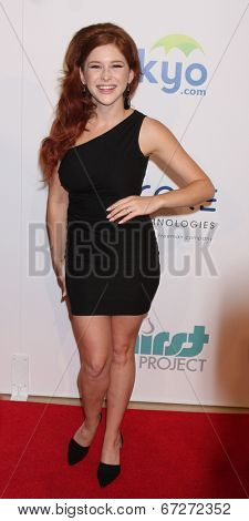 LOS ANGELES - JUN 24:  Renee Olstead at the 5th Annual Thirst Gala at the Beverly Hilton Hotel on June 24, 2014 in Beverly Hills, CA