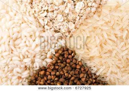 Oats, Rice And Buckwheat