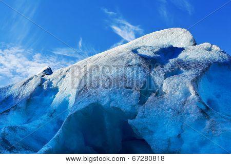 Svartisen Glacier in Norway