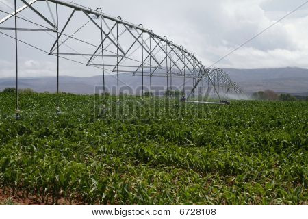 Modern Irrigation Machinery