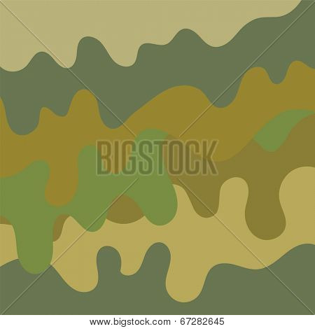 Military camouflage background pattern illustration