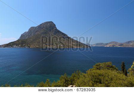 Kalymnos island in Greece