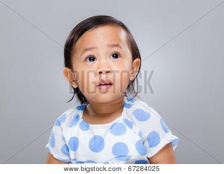 Multi racial baby girl
