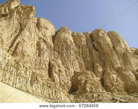 Theban Mountain In Luxor