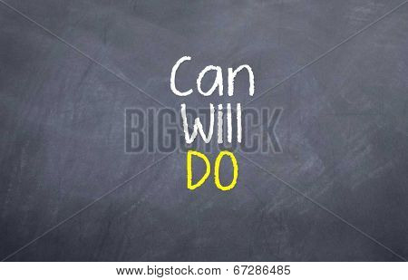 Can Will Do