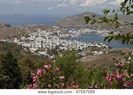 Patmos island in Greece