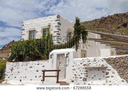 Patmos island in Greece.