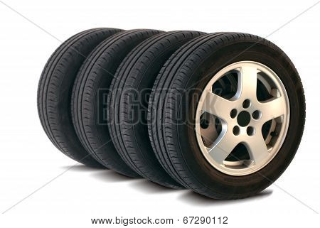 four summer tires