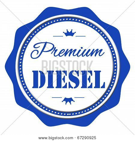 Premium Diesel Stamp