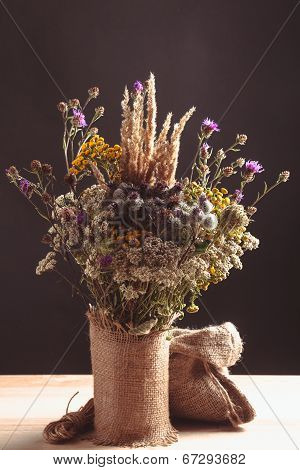 Wildflowers In A Vase