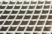 foto of grating  - galvanized grating  - JPG