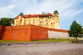 pic of na  - Walls of Wawel Royal Castle  - JPG