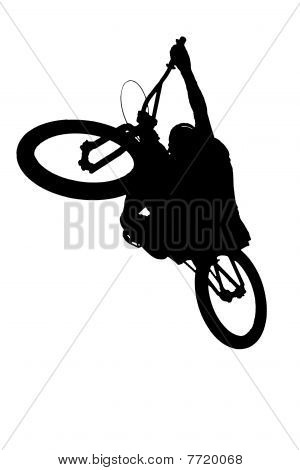 mountainbike rider