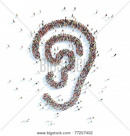 Symbol of your ear.
