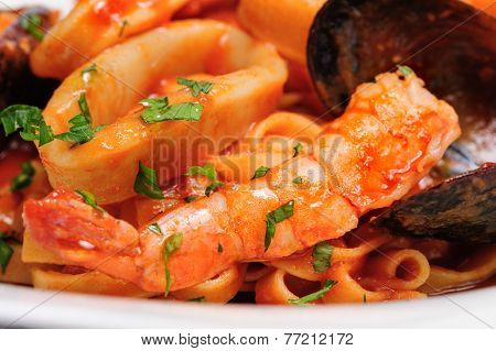 Seafood mixed saute