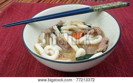Japanese Udon Noodle Soup