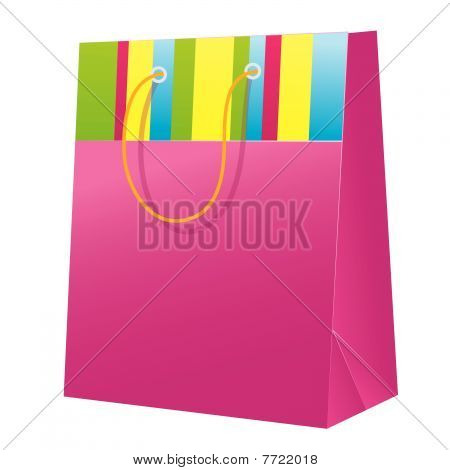 Gift package. Vector illustration