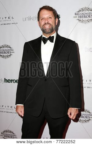 LOS ANGELES - NOV 8:  Richard Braun at the 3rd Annual Unlikely Heroes Awards Dinner And Gala at the Sofitel Hotel on November 8, 2014 in Beverly Hills, CA