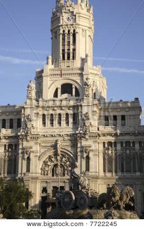 City Hall and Cibeles Fountain, Madrid