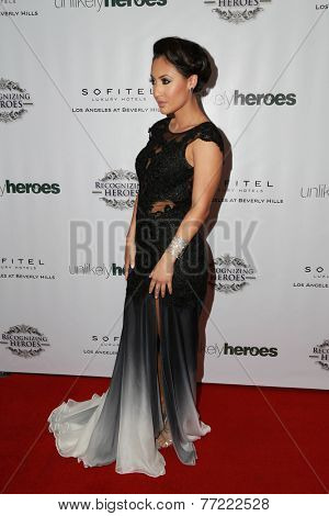 LOS ANGELES - NOV 8:  Francia Raisa at the 3rd Annual Unlikely Heroes Awards Dinner And Gala at the Sofitel Hotel on November 8, 2014 in Beverly Hills, CA