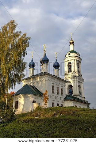 Saint Varvara's church. Ples, Golden Ring of Russia