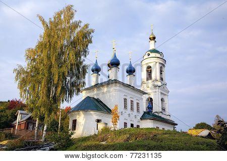 Saint Varvara's church. Ples, Golden Ring of Russia