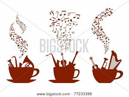 Musical cups of coffee