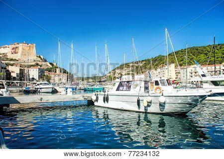 Bonifacio - Picturesquecapital Of Corsica, France