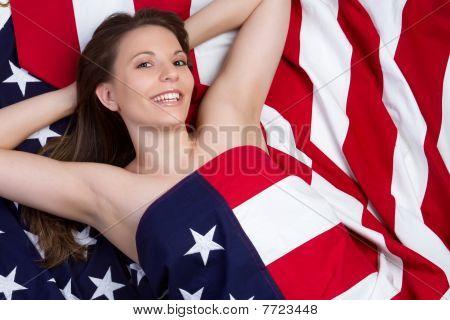 Patriotic Girl