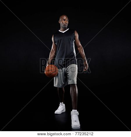 Young Professional Basketball Player