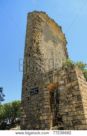 Gicon Site, Ancient Signal Tower, Provence, South Of France