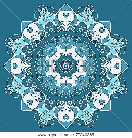Ornamental Round Celtic Pattern