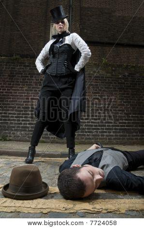 Ripper And Victim