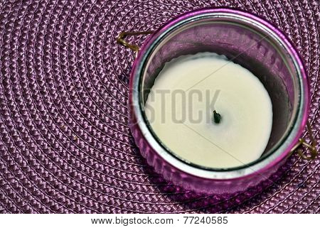 Quenched Decorative Candle
