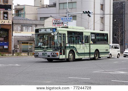 Hino Bus In Kyoto