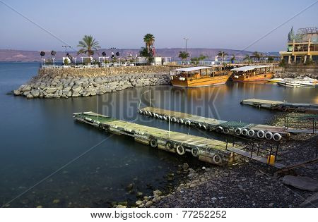 Harbour Of Tiberias