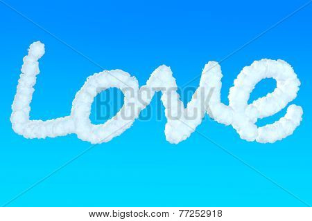 Love Sign From Clouds