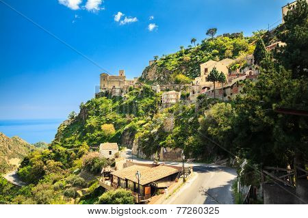 Old Buildings In Savoca, Sicily
